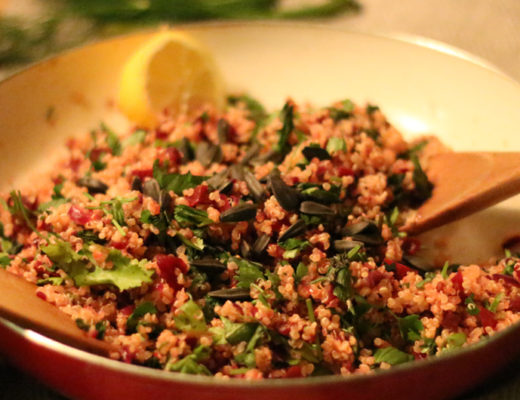 Warm 'Redlicious' Beetroot and Quinoa Salad